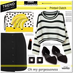 Anna Alexander London by asteroid467 on Polyvore featuring мода, Tom Ford, Nly Shoes, Givenchy and annaalexanderlondon