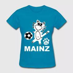 Mainz Catpaw Design Soccer Cat Costume Fun   - Women's T-Shirt