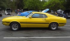 Image detail for -Bright Yellow 1969 Ford Mustang Shelby GT-350 Fastback ...