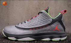 Buy New 580580-033 Jordan CP3.VI AE Wolf Grey Bright Crimson-Dark Grey-Electric Green Dr. Jekyll Fashion Shoes Store