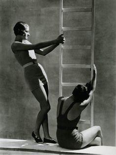 George Hoyningen-Huene, 1920's & 1930's fashion photographer.