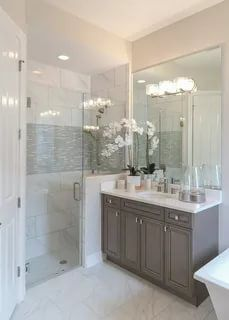 20 Clever Bathroom Remodel Before And After Ideas How To Remodel Your Bathroom Tips Bathroom Remodel Master Bathroom Design Bathrooms Remodel
