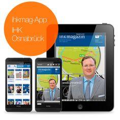 Das Magazin der IHK Osnabrück ist dank der ihkmag App nun überall verfügbar.