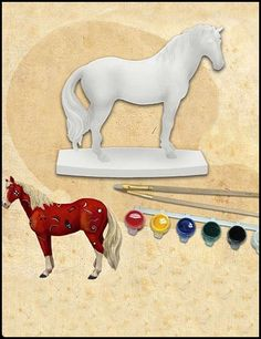 I want to make my own painted pony figure.