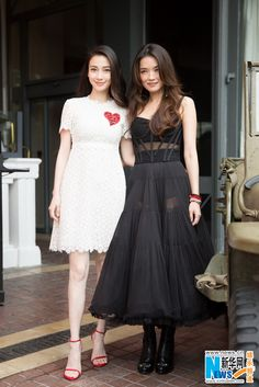 Angelababy and Shu Qi promote 'Ghouls' at the Cannes Film Festival  http://www.chinaentertainmentnews.com/2015/05/cast-of-ghouls-promotes-film-at-cannes_14.html