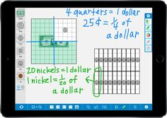 Money Pieces help students visualize and understand money values and relationships. Two versions of coins and bills are provided: virtual currency pieces that replicate the appearance and relative size of U.S. coins and the dollar bill, and area money pieces.