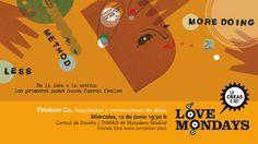 Cartel Love Mondays - Junio 2013 - Diseño Blanca Helga