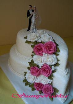 svatební dort růže - Hledat Googlem