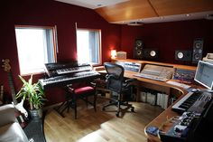 The Control Room at The Cabin Studio in London