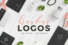 Trendy Branding Logos by Davide Bassu on @creativemarket