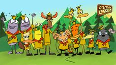 Camp Lazlo | Camp Lazlo Cartoon Characters Wallpaper