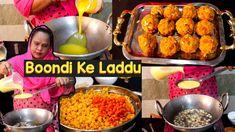 Boondi Ke Laddu   Boondi Ladoo Recipe   How To Make Boondi Ladoo   Bundi Ke Ladoo Kaise Banaye - YouTube Tandoori Chicken, Grains, Rice, Youtube, Recipes, Foods, Food Food, Food Items, Korn