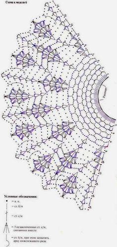 Kira scheme crochet: collars