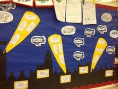 History WWII Bulletin Board idea
