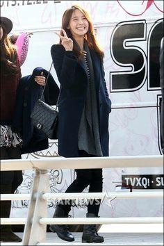 #Yoona #SNSD #GG #GirlsGeneration #Kpop #Airport #SmtownWeek #Smtown #Cute ♥