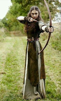 - - Medieval Dress Models 2019 Gender:WomenSleeve Length(cm):FullSilhouette:StraightDresses Artistic Modeling and Fine Art . Medieval Dress, Medieval Costume, Medieval Clothing, Renaissance Costume, Medieval Outfits, Medieval Girl, Elven Costume, Medieval Fashion, Steampunk Clothing