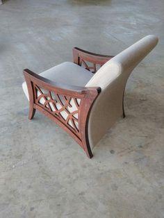 Feuteuille Source by Wood Pallet Furniture, Wood Sofa, Couch Furniture, Art Deco Furniture, Woodworking Furniture, Cheap Furniture, Furniture Makeover, Modern Furniture, Furniture Design