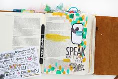 Illustrated Faith Bible Journaling Starter Kit | Bible Journaling by Shanna Noel
