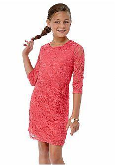 Monteau Girl 7-16 Lace Dress   Dillard\'s Mobile   My style ...