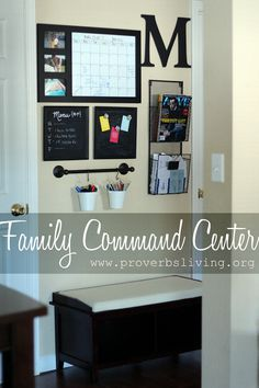 Proverbs Living: Family Command Center