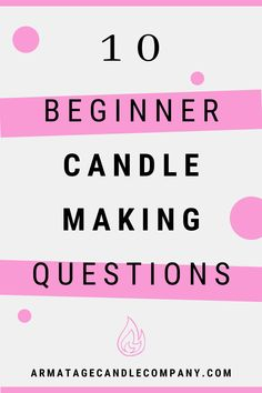 Candle Making Business, Craft Business, Business Ideas, Buy Candles, Making Candles, Homemade Scented Candles, Craft Projects For Adults, Circle Crafts, Candle Making Supplies