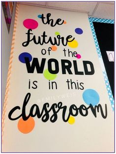 Sensational DIY decoration ideas for classroom - Make your classroom not just a place to discover and get understanding but likewise a great and remarkable area to hangout! classroom, Excellent DIY Classroom Decoration Ideas & Themes to Inspire You Diy Classroom Decorations, Classroom Displays, Classroom Organization, Diy Decoration, Preschool Classroom Decor, Classroom Decoration Ideas, Classroom Wall Decor, Classroom Management, Classroom Display Boards