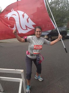 Washington State University's Coug flag is flown all over the world! Share your photo! Washington State University, All Over The World, Flag, Waves, College, University, Science, Ocean Waves, Flags