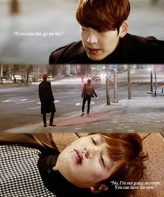 But I seriously love how Young Do took it upon himself to stop Kim Tan and calm him down, keep him from causing trouble because no matter what underneath they are still best friends. But this seriously made me cry uugghh Heirs Korean Drama, Korean Drama Funny, Korean Drama Quotes, The Heirs, Korean Dramas, Lee Min Ho Kdrama, Girl Drama, Korean Tv Series, Moorim School