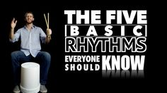 Everyone Who Loves Music Should know These Rhythms By NAME! Drums For Kids, Drum Lessons For Kids, Piano Lessons, Music Lessons, Bucket Drumming, Drums Beats, Drum Music, Music Classroom, Music Teachers
