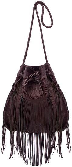 ☯☮ॐ American Hippie Bohemian Style ~ Leather Fringe Bag!