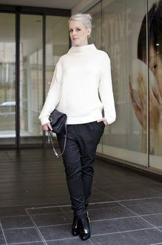 #fashion #fashionista Anna bianco nero fashionpuppe.comoooooohhhmmmmmmm » fashionpuppe.com