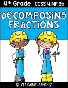 will help students practice and understand how to decompose fractions ...