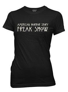 American Horror Story Freak Show Season 4 Logo Juniors Tee (Small) Ripple Junction http://www.amazon.com/dp/B00OWA9CE4/ref=cm_sw_r_pi_dp_NgZLub1K4SGZY