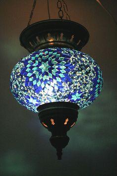 EXTRA LARGE TURKISH MOSAIC LAMP SHADE