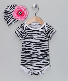So cute!!  http://www.zulily.com/invite/jpalmer893/p/black-zebra-bodysuit-rosette-beanie-infant-26072-2170815.html?tid=social_pinref_shareviaicon_na=2170815