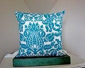 pillow cover  #turquoise Zeta Tau Alpha #ZTA