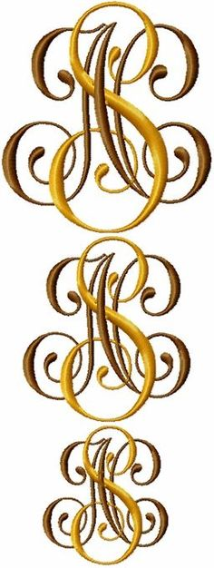 great monograms and tutorials