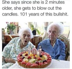 Poor granny...