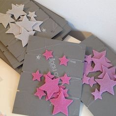 Wool Felt Star Garlands from Twiggy and Lou