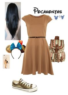 Dress and belt and backpack