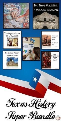 Texas History Bundle - Buy lessons for the entire year and save! Purchase the bundle of Texas History activities for huge savings! In this bundle, you will receive all of my Texas History lessons – from the beginning of school through the Modern Era. Each of these lessons involve an Interactive Student Notebook component and are designed for maximum engagement for your students.