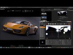 HDR Light Studio live for Cinema 4D - CINEMA 4D Renderer Workflow - YouTube