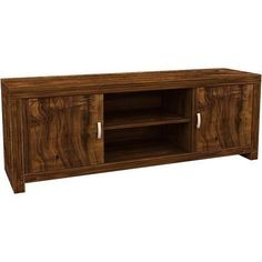 Hampton Acacia Dark Wood TV Stand