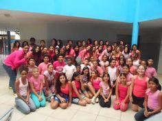 Blog do Inayá: Professores e Alunos do Inayá aderem ao Outubro Rosa
