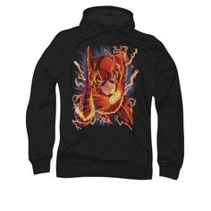 The Flash New 52 Issue #1 Cover Mens Pullover Hoodie