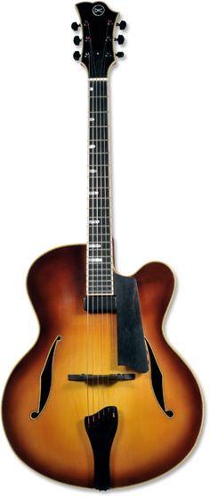 Koentopp Blue Line archtop guitar