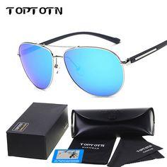 15b46b55e79c9 Wholesale TOPTOTN Brand Designer Aluminum Magnesium Alloy Polarized glasses  For Men Sport Driving Glasses Oculos De Sol