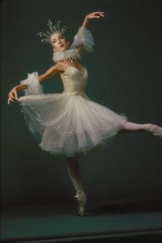 Patricia Miller in Ashton's Illuminations. Joffrey Ballet, 1983