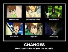 Katekyo Hitman Reborn Tsuna and his epic changes