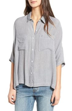 $45 BP. Stripe Slouchy Shirt available at #Nordstrom